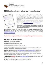 Handledning till miljöbeskrivning av sling- och punktlokaler - Svensk ...