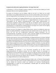 Veralgemeende elektronische regeling derdebetaler: niet ... - VWGC