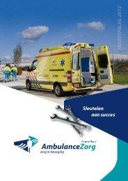 Jaarverslag 2012 - AmbulanceZorg Limburg-Noord