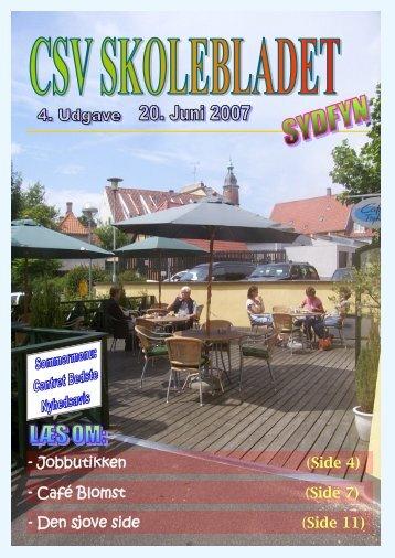 - Café Blomst (Side 7) - Jobbutikken (Side 4) - Den sjove side ... - CSV