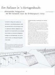 Een Italiaan in 's-Hertogenbosch: Alessandro ... - Bossche Bladen