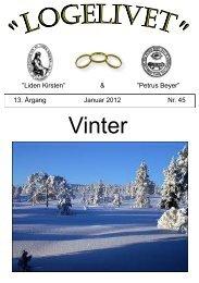 Logelivet januar 2012 - Loge nr. 41 Petrus Beyer, 7700 Thisted