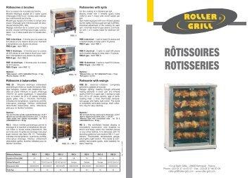 ROTISSOIRES DOC - Roller Grill International