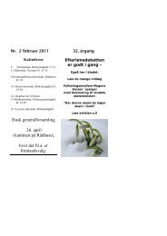 S Posten februar 2011 - Socialdemokraterne Albertslund
