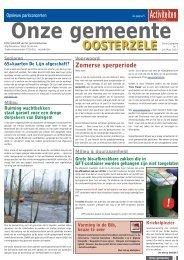 juli/augustus 2012 - Gemeente Oosterzele