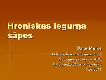 Hroniskas iegurņa sāpes Diagnostiska dilemma Pareiza diagnostika ...