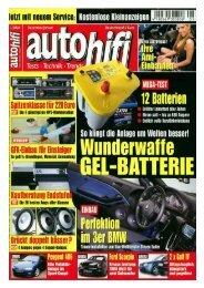 Pressebericht autohifi - Schmitz & Heisler GmbH