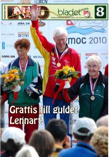 Grattis till guldet Lennart! - Västerås SOK