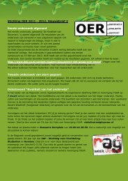 Nieuwsbrief februari 2012 - Stichting OER