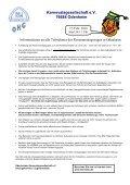 nein Anmeldung zum Rosenmontagsumzug 2010 auf dem ... - Seite 2