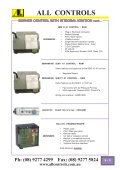 Industrial Gas Catalogue- Section 6-13 - All Controls - Page 7