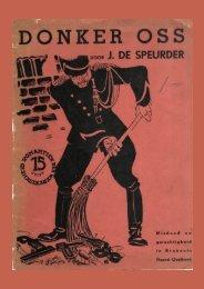 J. de Speurder - Donker Oss - Het eerste complete verhaal ... - Cubra