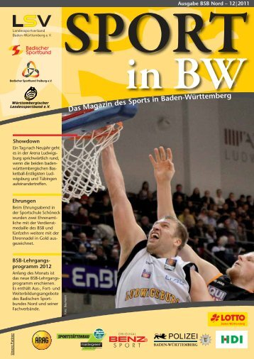 Download Sport in bw Nr. 12/11 - Badischer Sportbund Nord ev
