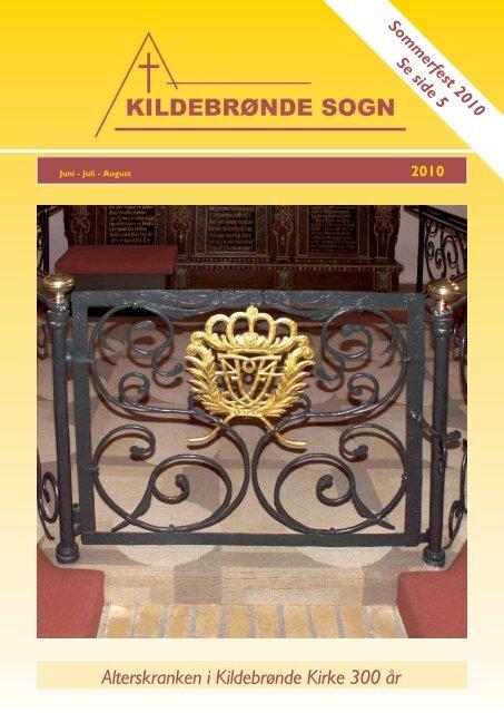 Alterskranken i Kildebrønde Kirke 300 år - Kildebrønde Sogn