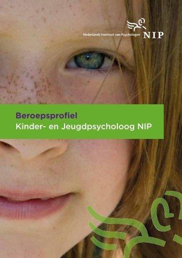 Beroepsprofiel Kinder- en Jeugdpsycholoog NIP
