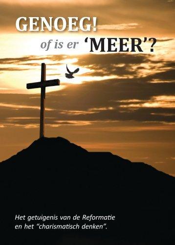 'MEER'? GENOEG! - in Hem