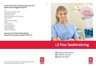 LO Plus Tandforsikring - ALKA forsikring