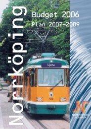 Budget 2006 - Norrköpings kommun