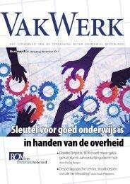 Vakwerk - Beter Onderwijs Nederland