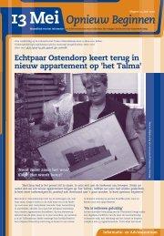 13 mei Opnieuw beginnen - Digitaal loket - Gemeente Enschede