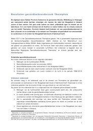 Resultaten gezondheidsonderzoek Thermphos - GGD Zeeland