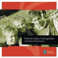 Politik for Kultur, Fritid og Idræt i Favrskov Kommune