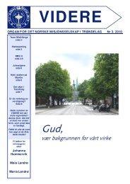 VIDERE nr 3-2010 på nett (2,0MB) - Det Norske Misjonsselskap