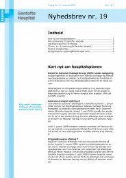 Nyhedsbrev nr. 19 - Gentofte Hospital
