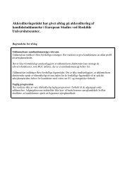 Akkrediteringsrådet har givet afslag på akkreditering af ...