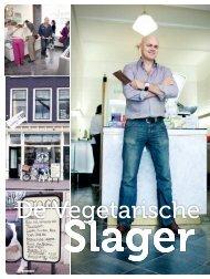Artikel in het magazine Gezondnu - de Vegetarische Slager