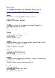 Keeperstrainingen Documenten komen van ProKeepers (gratis ...