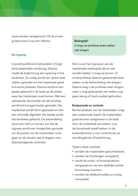 mca.nl Overkappingsprothese op implantaten