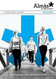 Ladda hem vår utbildningskatalog! (PDF) - Almåsgymnasiet