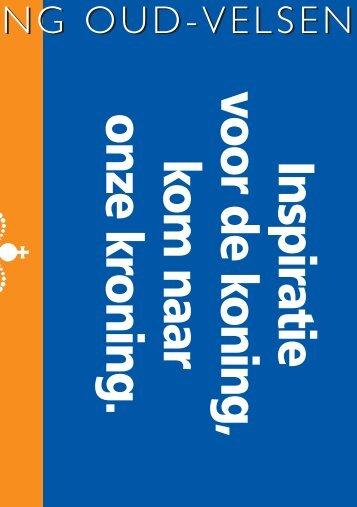 Boekje - Oranjevereniging (Oud)Velsen