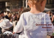 The Science of Immunisation - Australian Academy of Science