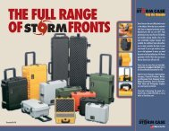 THE FULL RANGE OF FRONTS