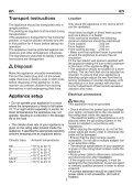BEKO FNE 19906 Fridge Freezer Operating Instructions User Guide ... - Page 7