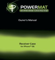 Owner's Manual Receiver Case - SalterHousewares.com