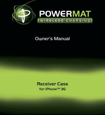 Owner's Manual Receiver Case - SalterHousewares.com