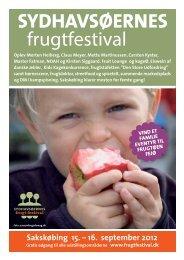 Frugtfestival 2012 Program - Sydhavsøernes Frugtfestival