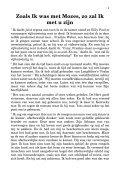Zoals Ik was met Mozes, zo zal Ik met u zijn - Vrije Zendingshulp - Page 3