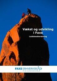 Vækst og udvikling i Faxe - Faxe erhverv