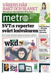 Metro från i fredags - bekkas.se