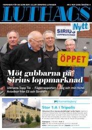 nr. 5/2009 - luthagsnytt