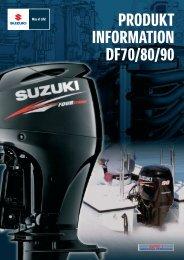 PRODUKT i INFDRMATIØN DF70/80I90 - Suzuki Marine
