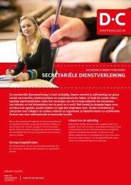 secretariële dienstverlening - Drenthe College