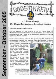 September-oktober 2005 - 1. Lillerød gruppe