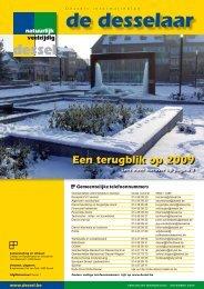 10. De Desselaar december 2009 - Gemeente Dessel