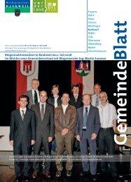Bürgermeisterwechsel in Rankweil am 1. Juli 2008 Im Bild der neue ...