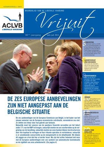 Vrijuit, editie juni-juli 2011 - Aclvb